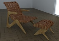 3d armchair adesso z model