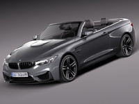 BMW M4 F33 Convertible 2015