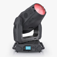 chauvet legend 1200e wash 3d model