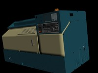 3d model of cnc machine makine