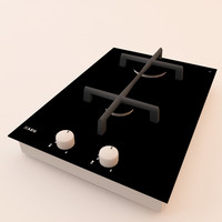 3d model of aeg gas stove