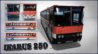 3ds max bus ikarus 250