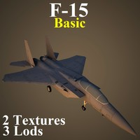 boeing basic air fighter 3d model