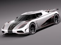 2012 sport r koenigsegg 3d 3ds