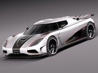 2012 car sport r 3d model