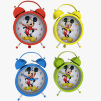 3ds max alarm clock mouse miki