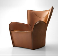 Molteni&C Mandrague armchair 2013 leather version