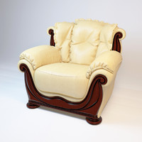 chair elite armchair 3d max