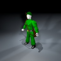 toy soldier army man 3d 3ds