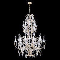 3d chandelier bordeaux large