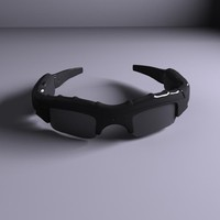 3d spy glasses model