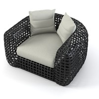 Kenneth Cobounpue Matilda lounge Chair