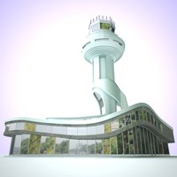 3ds max control tower