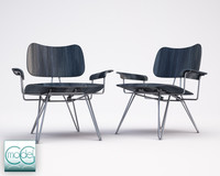 chair moroso overdyed 3ds