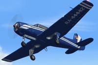 3d model plane flight
