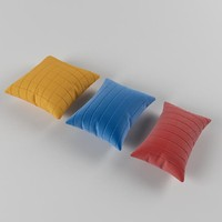 3d pillow photorealistic