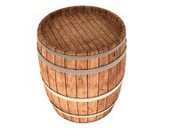 3ds max barrel