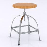3ds artisan stool