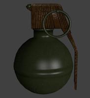 m67 frag grenade 3ds