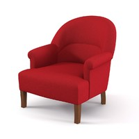 3d model comptoir famille armchair