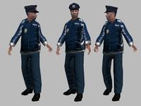 cop 3d model