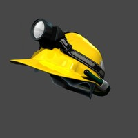 construction helmet hat 3d ma