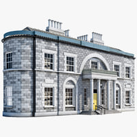 manor house 3d model