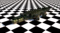 3d rig crocodile