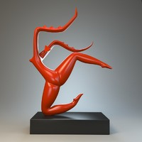 max sculpture dance mantis