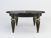 coffee table french 3d x