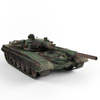 3dsmax t-72 tank