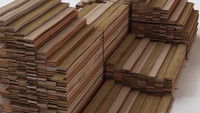 stacked wood boards 3d max