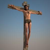 jesus christ 3d max