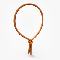 noose cartoon 3d fbx