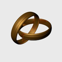 wedding ring 3d 3ds