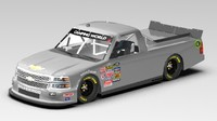Chevrolet Silverado 2014 Nascar (Game Ready)