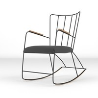 chair realistic 3d model