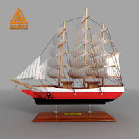 decorative ship 3d model