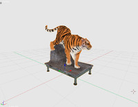 maya stuffed tiger