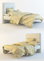 bedclothes pottery barn bed 3d max