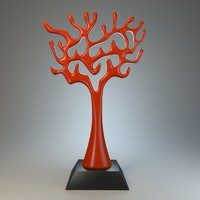 tree sculpture 3d fbx