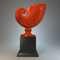 3d model sculpture bowl