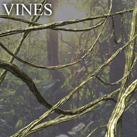 vines jungle 3d obj