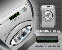3d model washing machine 10