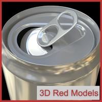 can tin 3d model