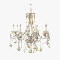 3d ebanista bardot chandelier model