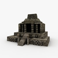 Low Poly Aztec Temple