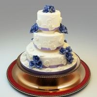 3ds max wedding cake 04