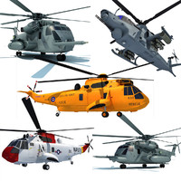 3d model westland helicopters