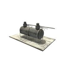 natural gas tank 3d model